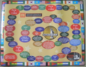 picture of NWFCO's Immigration Board Game