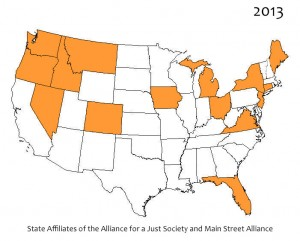 State affiliate.Alliance and MainStreet