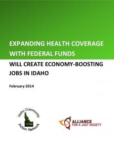 Idaho health jobs cover