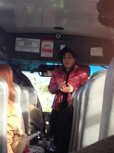 Reset Seattle invited city council members on a bus tour of homes and communities blighted by foreclosure.