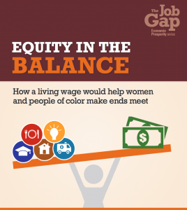 EQUITY IN THE BALANCE COVER