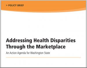 WA Health Disparities Policy Brief