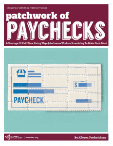 Patchwork of Paychecks Cover