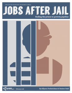 Jobs after Jail report cover